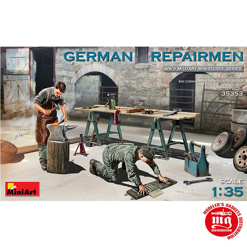 GERMAN REPAIRMEN MINIART 35353