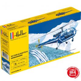 SA 316B ALOUETTE III GENDARMERIE HELLER 80286