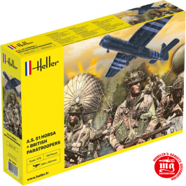 A.S. 51 HORSA AND BRITISH PARATROOPERS HELLER 30313