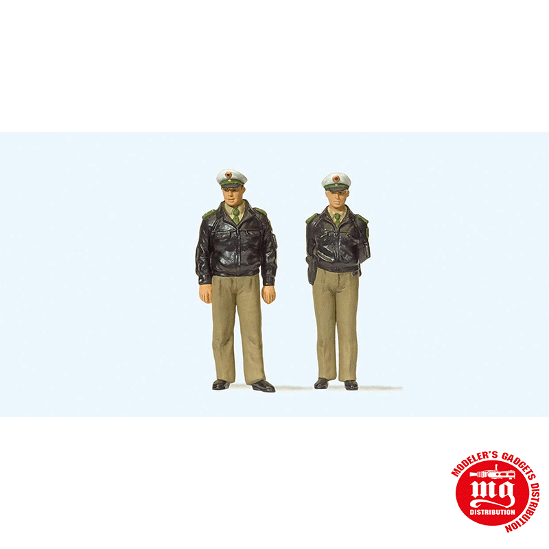 CONJUNTO DE POLICIA HOMBRE Y MUJER PREISER 65363