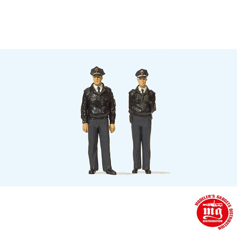 PAREJA DE POLICIA HOMBRE Y MUJER PREISER 65364
