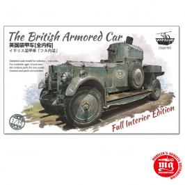 THE BRITISH ARMORED CAR  WARSLUG1901