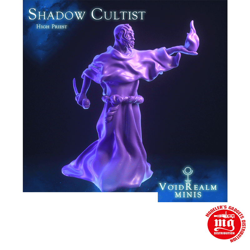 SHADOW CULTIST SACRIFICER WITH BASE VOIDREALM MINIS