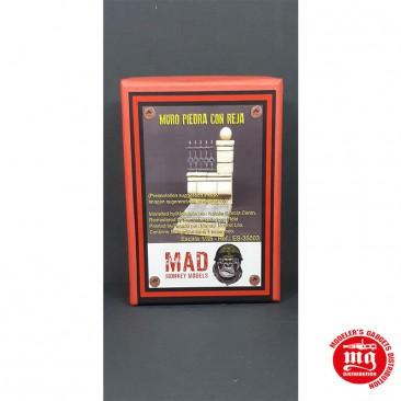 1/35 MURO DE PIEDRA CON REJA MAD MONKEY MODELS ES-35003