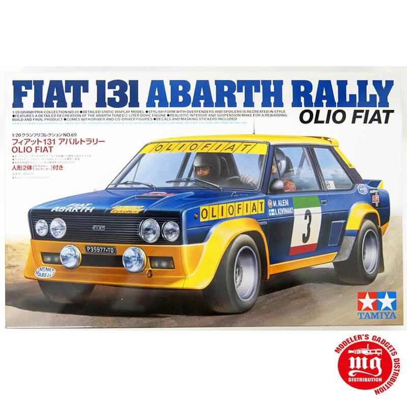 1/20 FIAT 131 ABARTH RALLY OLIO FIAT TAMIYA 20069