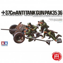 1/35 CAÑON ANTITANQUE DE 3.7 mm PaK35/36 TAMIYA 35035
