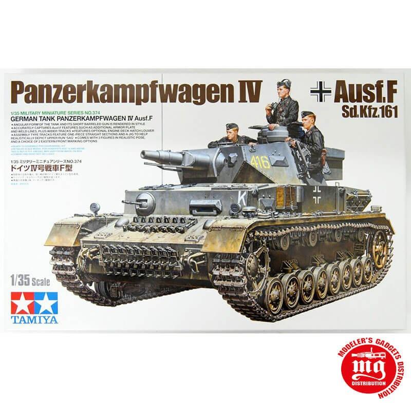 1/35 PANZERKAMPFWAGEN IV AUSF.F Sd.Kfz.161 TAMIYA 35374