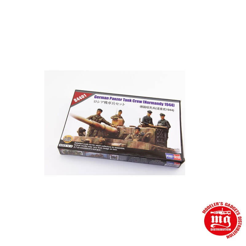 1/35 GERMAN PANZER TANK CREW NORMANDY 1944 HOBBYBOSS 84401