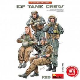 1/35 IDF TANK CREW MINIART 37076