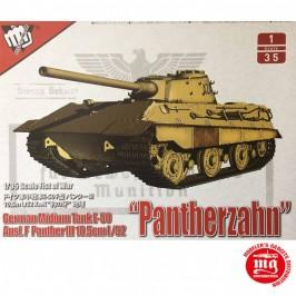 1/35 GERMAN MIDIUM TANK E-50 AUSF.F PANTHER III 10.5cm L/52 PANTHERZAHN MODELCOLLECT UA35015