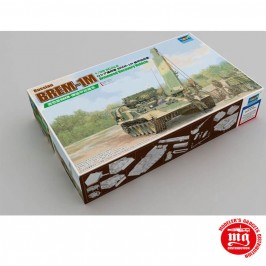 1/35 RUSSIAN BREM-1M ARMOURED RECOVERY VEHICLE T-90 TRUMPETER 09554