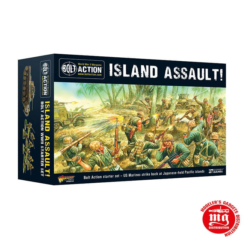 ISLAND ASSAULT SET DE INICIO BOLT ACTION EN ESPAÑOL WARLORD GAMES 401540003