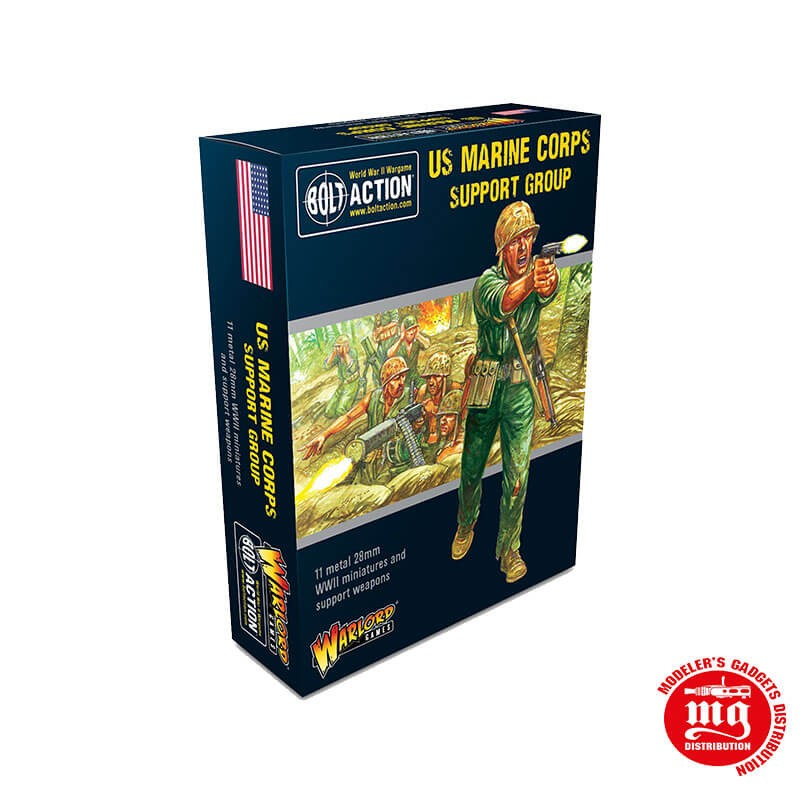US MARINE CORPS SUPPORT GROUP BOLT ACTION WARLORD GAMES 402213107