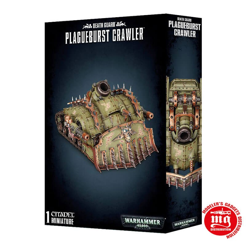 DEATH GUARD PLAGUEBURST CRAWLER WARHAMMER 40000 43-52
