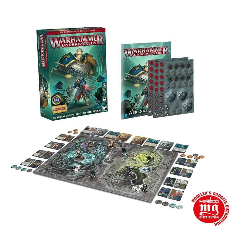 WARHAMMER UNDERWORLDS CAJA DE INICIO EN CASTELLANO WARHAMMER UNDERWORLDS 110-01