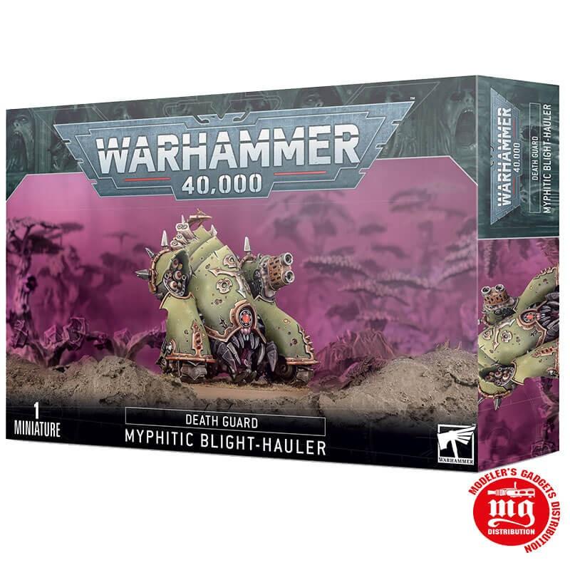 WARHAMMER 40000 DEATH GUARD MYPHITIC BLIGHT HAULER WARHAMMER 40000 43-56