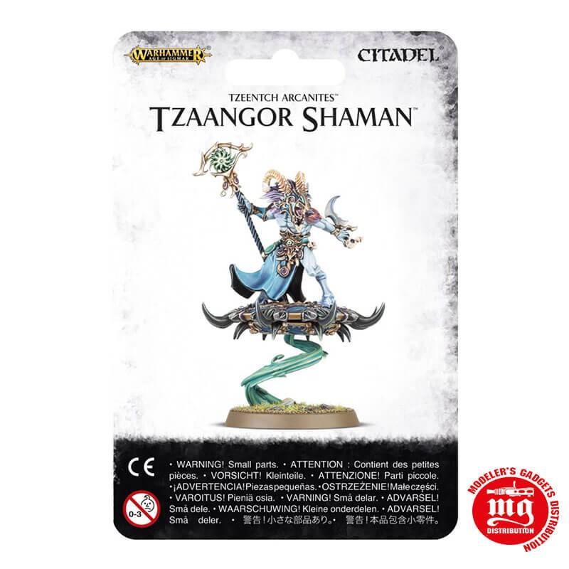 DISCIPLES OF TZEENTCH TZAANGOR SHAMAN WARHAMMER AGE OF SIGMAR 83-76