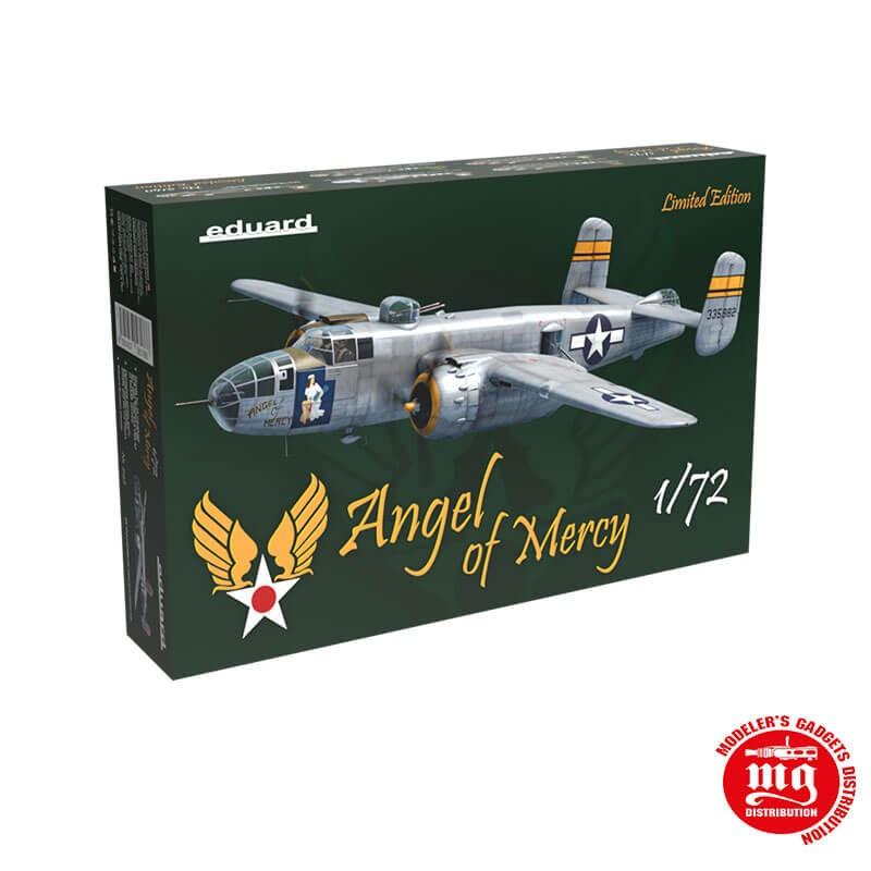 B-25J MITCHELL ANGEL OF MERCY LIMITED EDITION EDUARD 2140 ESCALA 1/72