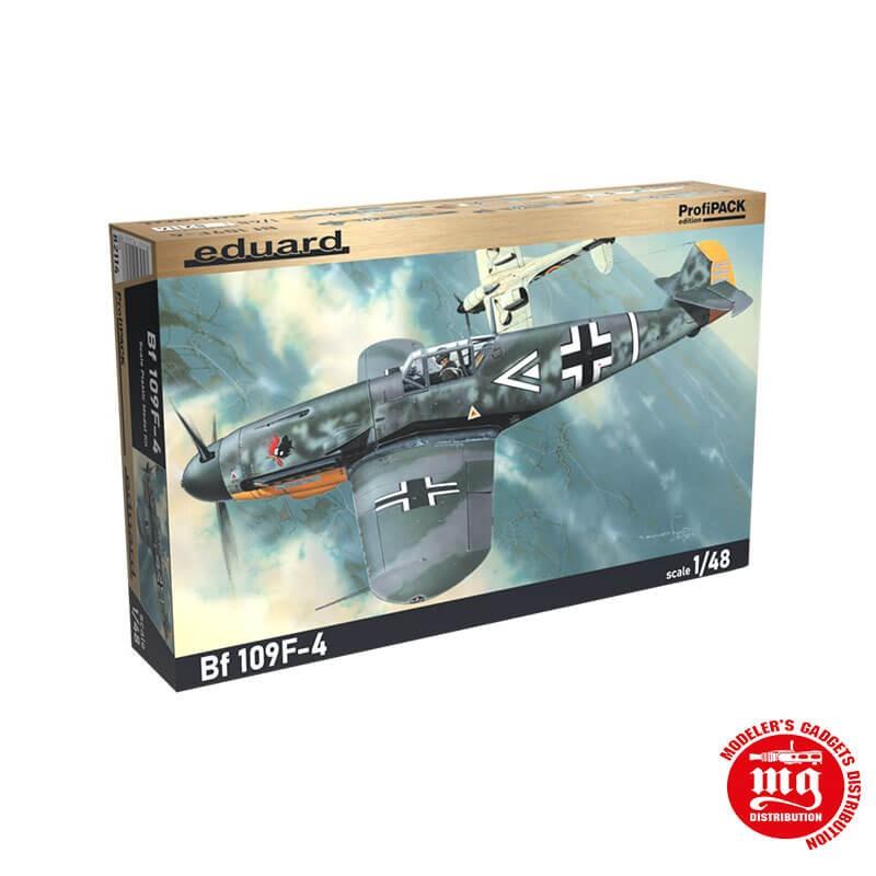 Bf 109F-4 EDUARD 82114 ESCALA 1/48