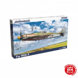 Fw 190D-9 EDUARD WEEKEND EDITION EDUARD 84102 ESCALA 1/48