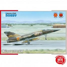 DASSAULT MIRAGE F.1CE/CH SPECIAL HOBBY 72289 ESCALA 1/72