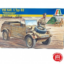 VW TIPO 82 KUBELWAGEN ITALERI 312 ESCALA 1:35
