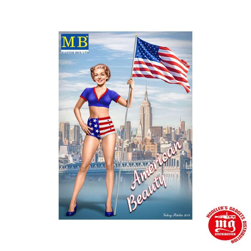 SERIE PIN UP KIT Nº2 BETTY MASTER BOX MB24002 ESCALA 1/24