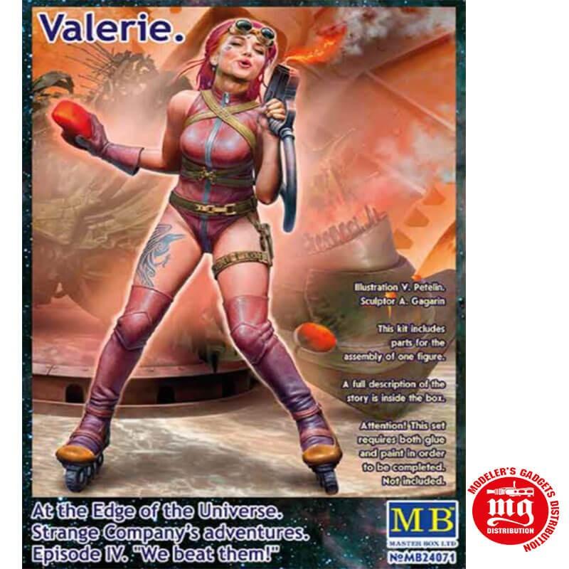 VALERIE EN EL BORDE DEL UNIVERSO LAS AVENTURAS DE STRANGE COMPANY EPISODIO IV LES GANAMOS MASTER BOX MB24071 ESCALA 1/24
