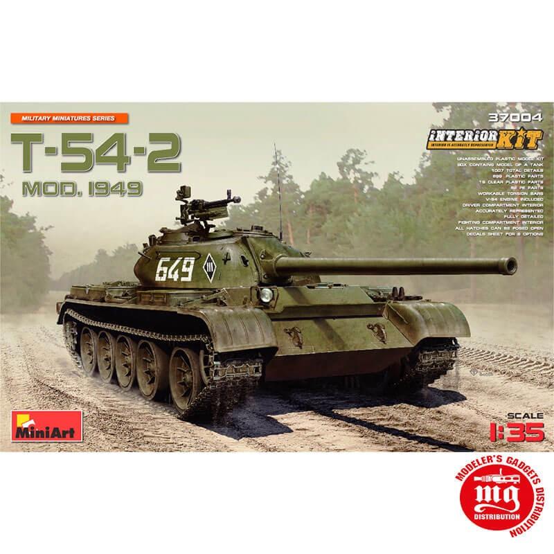T-54-2 MODELO 1949 MINIART 37004 ESCALA 1/35