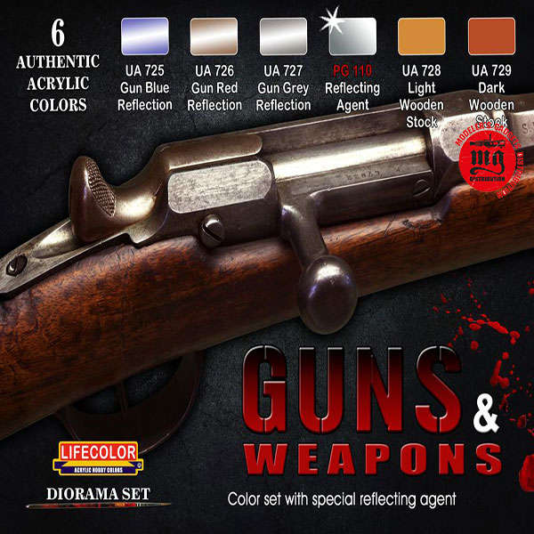 LIFECOLOR GUNS AND WEAPONS LIFECOLOR CS26