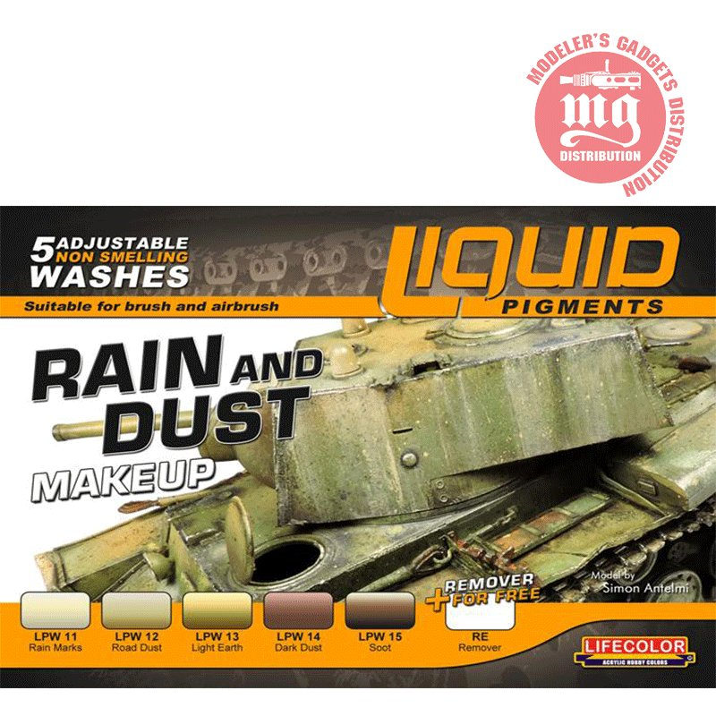 RAIN AND DUST LIQUID PIGMENTS LIFECOLOR LP03