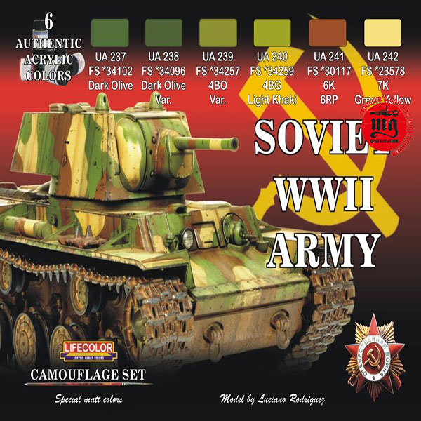 SOVIET WWII ARMY LIFECOLOR CS23