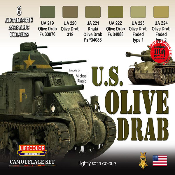 U.S. OLIVE DRAB LIFECOLOR CS01