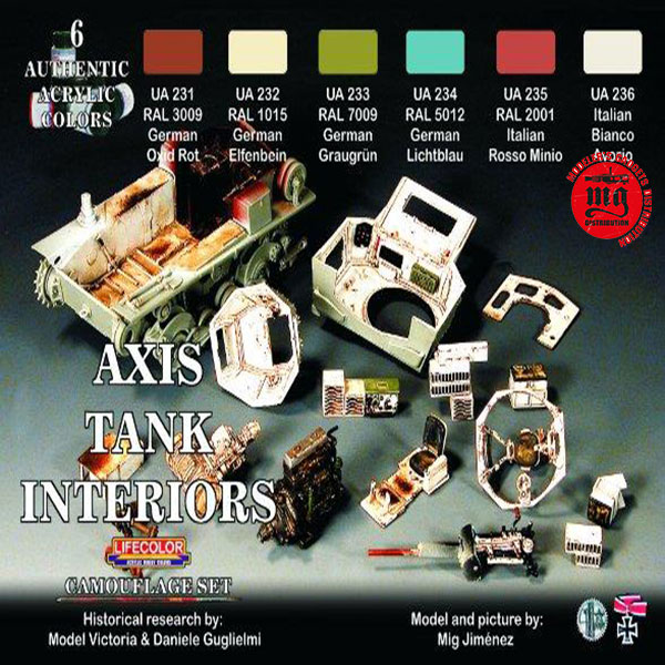 AXIS TANK INTERIORS LIFECOLOR CS22
