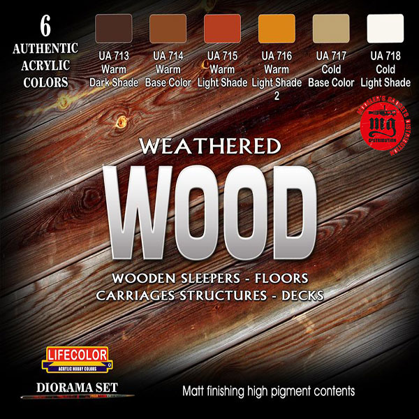 WEATHERED WOOD LIFECOLOR CS20