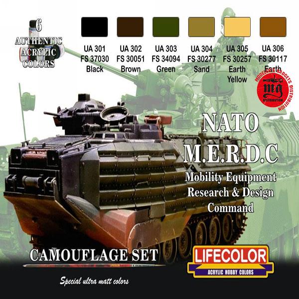 NATO M.E.R.D.C. LIFECOLOR CS02