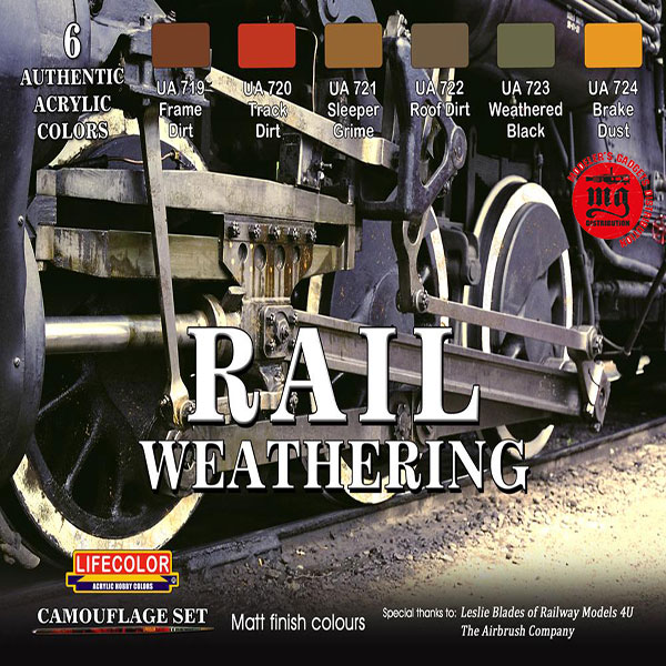 RAIL WEATHERING LIFECOLOR CS21