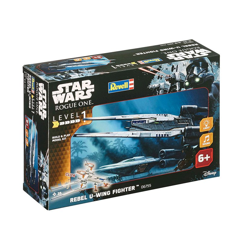 REVELL-STAR-WARS-BUILD-&-PLAY-REBEL-U-WING-FIGHTER