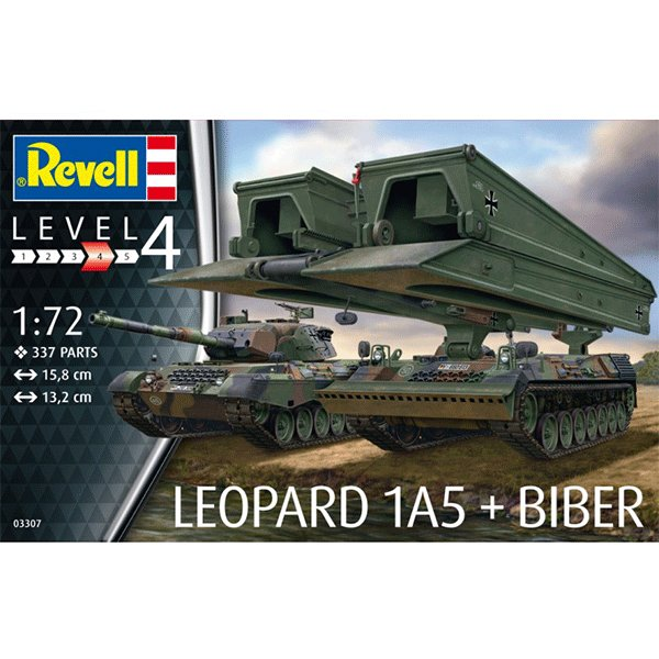 REVELL-172-LEOPARD-1A5&BRIDGELAYER-BIBER
