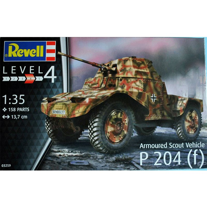 REVELL-1-35-ARMOURED-SCOUT-VEHICLE-P-204