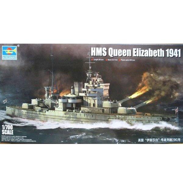 TRUMPETER-1-700-HMS-QUEEN-ELIZABETH-1941-BATTLESHIP