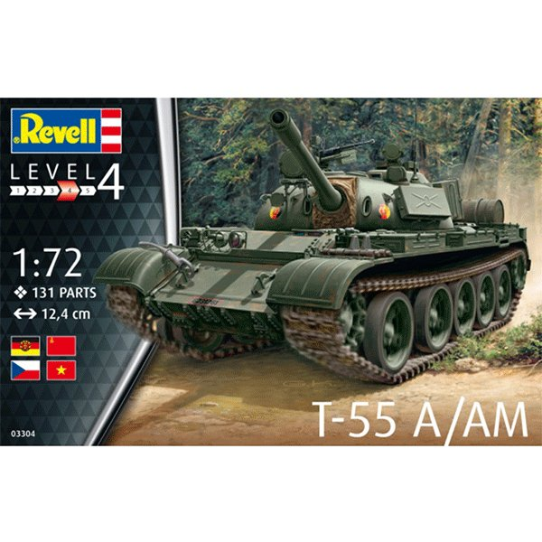 REVELL-1-72-T-55A