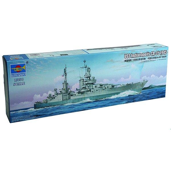 TRUMPETER-1350-USS-INDIANAPOLIS-CA-35-1944