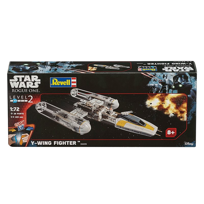 REVELL-EASYKIT-STAR-WARS-1-50-RESISTANCE-Y-WING-FIGHTER