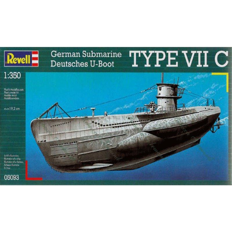 REVELL-1-350-U-BOAT-TYPE-VIIC