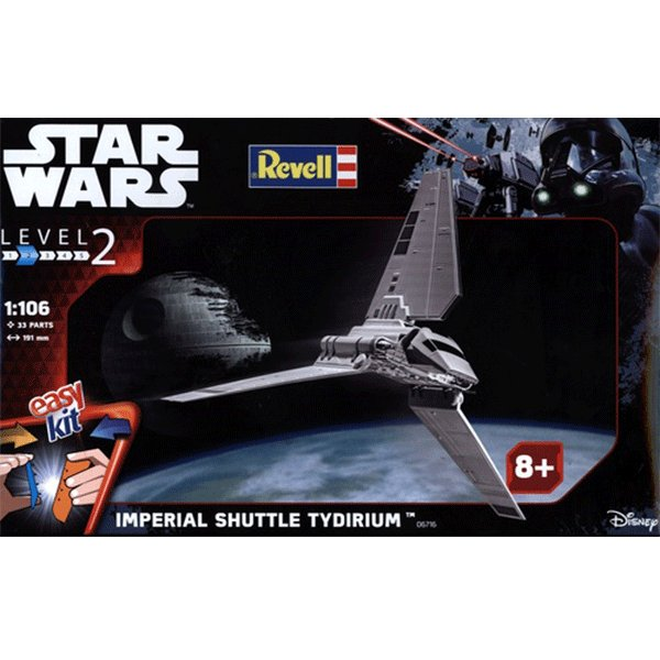 REVELL-EASYKIT-STAR-WARS-1-106-IMPERIAL-SHUTTLE-TIRIDIUM