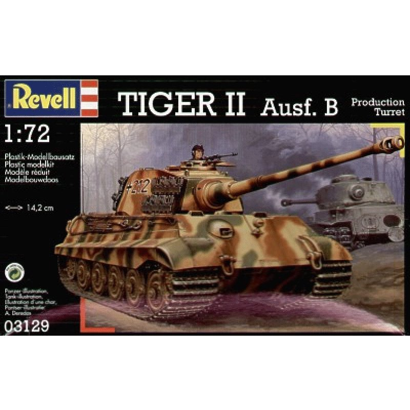 REVELL-1-72-TIGER-II-Ausf.-B