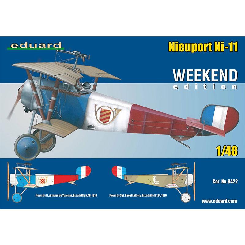 EDUARD-KITS-148-WEEKEND-NIEUPORT-Ni-11