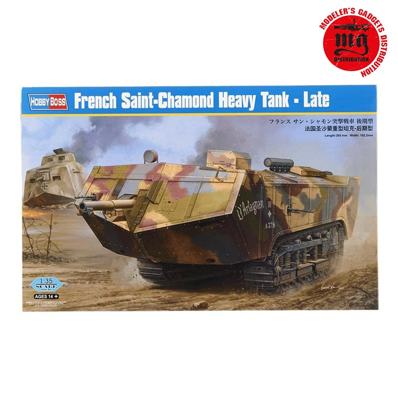 HOBBYBOSS-FRENCH-SAINT-CHAMOND-HEAVY-TANK-LATE