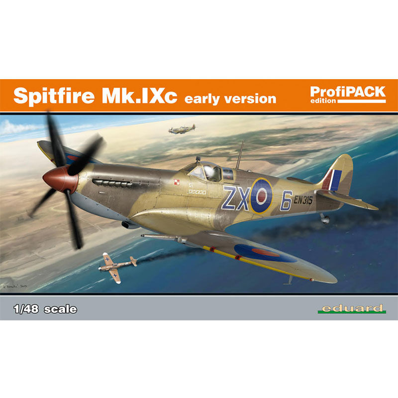 EDUARD-PROFIPACK-148-SPITFIRE-Mk.IXc-Early-Version